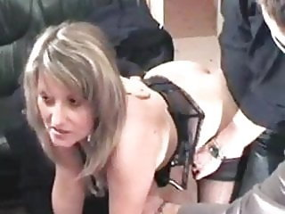 French slut christina in gang bang