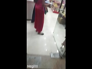 Young Indian Girl Ass Line Visible In Public