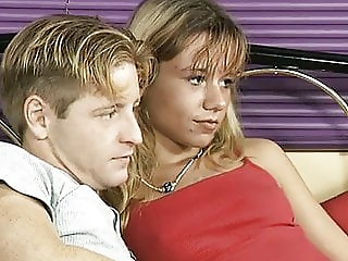 young german couple picked from street for a porn video