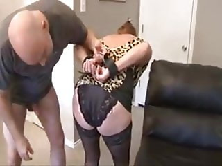 Mexican Granny Rose Fucked, Bound and Gagged
