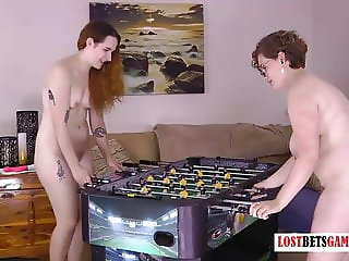 Foosball leads to Nudity? Absolutely! This game Escalates Qu