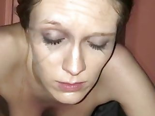 DEGRADED WHORE WIFE HUMILIATED AFTER ANAL