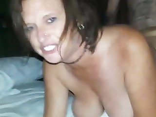 husband films his busty wife having orgasm with her new boss