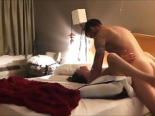 hot amateur in hotel