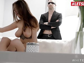 LETSDOEIT -Sexy Brunette With Big Tits Having A Solo Fetish