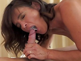 Mature Blows Sucks Rides Cowgirl Eats Cum Of Young Guy