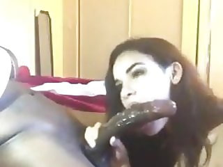 Holly ...She takes 11 inch dick in her mouth !!!