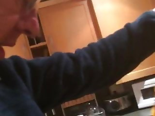 fucking jackie in the kitchen