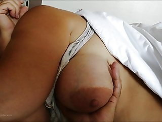 Big tits of my wife Anneli