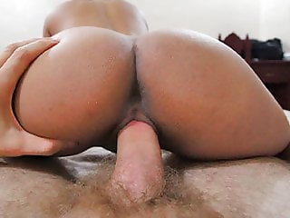Wife rubbing pussy while watching porn