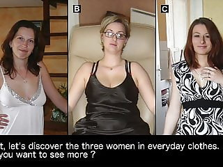 Make your choice #8 : which of these 3 women would you fuck?