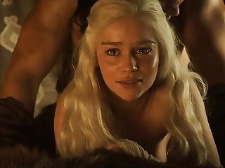 Emilia Clarke fucked on loop with no music