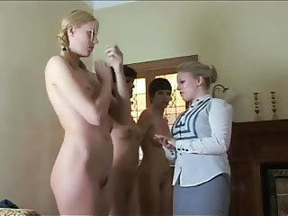 Teens punished for a week. Stripped spanked all week long!