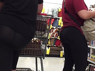Pair of Sexy Pawg Asses See Thru Leggings
