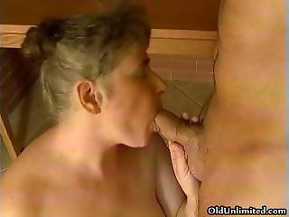 Fat old mature wife without teeth gets part5