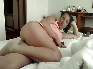 Romanian woman teasing