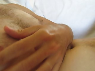 self milking and powerful ejaculation