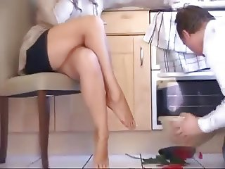 Foot Worship With Retired Mistress