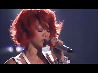 Rihanna live S&M performance