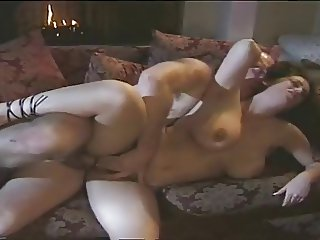 Brunette Big Natural Tits Fucked by Old Chap by TROC