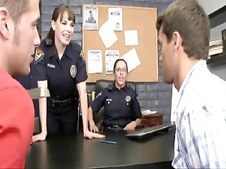 2 Female Police Officers Enforce The Law