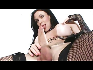 Shemale - Fabiola's Monster Cock Montage