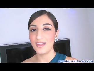 Amateur Arab Teen Gets First Cum Facial