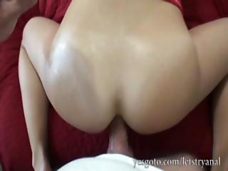 Smoking hot amateur Taylor first time anal fucking while her boyfriend films