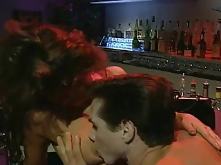 Tera Heart & Peter North fucking in a bar