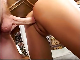 Shaved Asians Gets Fucked In Both Holes