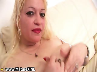 Busty experienced housewife showing part3