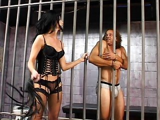 Leah Wilde is a tough prison warden