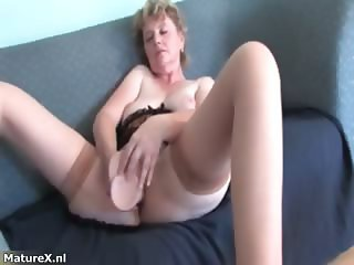 Naughty mature woman loves getting huge part4