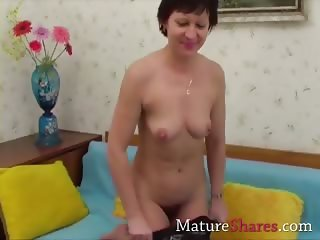 All natural cock sucking granny