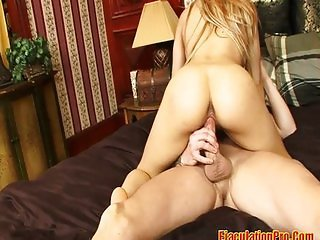 Big Tits Blonde Fucked Hard And Got A Facial