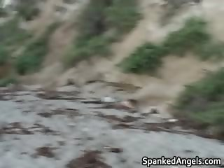 Beach Blanket whipping video video  part2