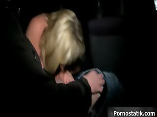 Chubby milf mom in sexy lingerie sucking part5