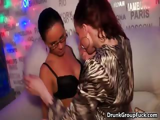 Very hot lesbian babe with glasses gets part2
