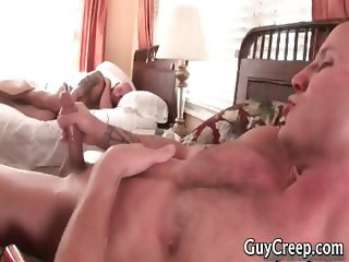 Aroused homo bro spying on his dreaming part5