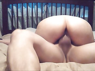 wife riding cock