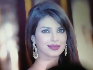 Beautiful face of Priyanka Chopra cummed!!!