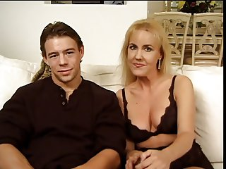 Younger stud cunt fucks older female