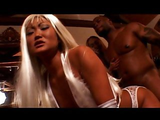 Asian sluts fucking black dick is lovely