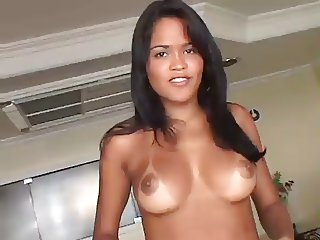 Stunning Teen take a fat cock in her ASS