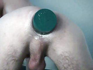 huge anal insertion