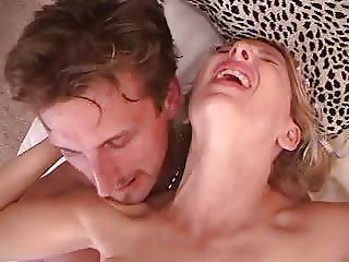 Cindysinx takes Marc Ashley in her ass!