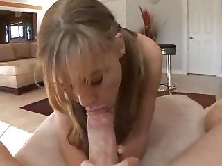 Teen Works Up a Spoonful Of Jizz