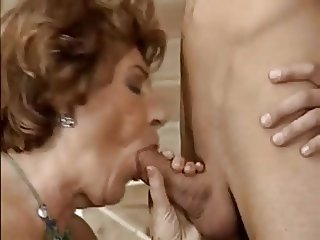 Granny with Young Cock By TROC