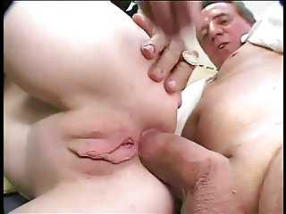 Cute Lil' Shaved Teen Miasia Fucked Pussy and Ass