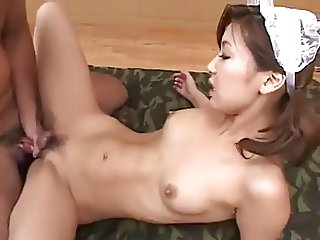 double penetration for japanese maid part 3.